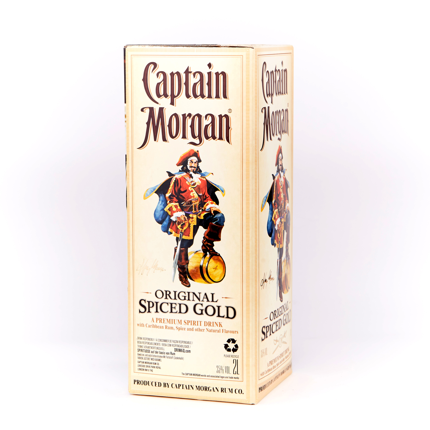 "Ром ""Captain Morgan 2l"""
